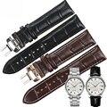 ISUNZUN 20 мм ремешок для часов Mido Baroncelli M010 из натуральной кожи ремешок для часов MIDO M010408A черный коричневый с пряжкой браслет