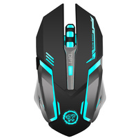 NoteBook Charge Unlimited Wireless Gaming Backlit Gaming Mouse 7 Color Backlight Breath Laptop Mouse Desktop Video