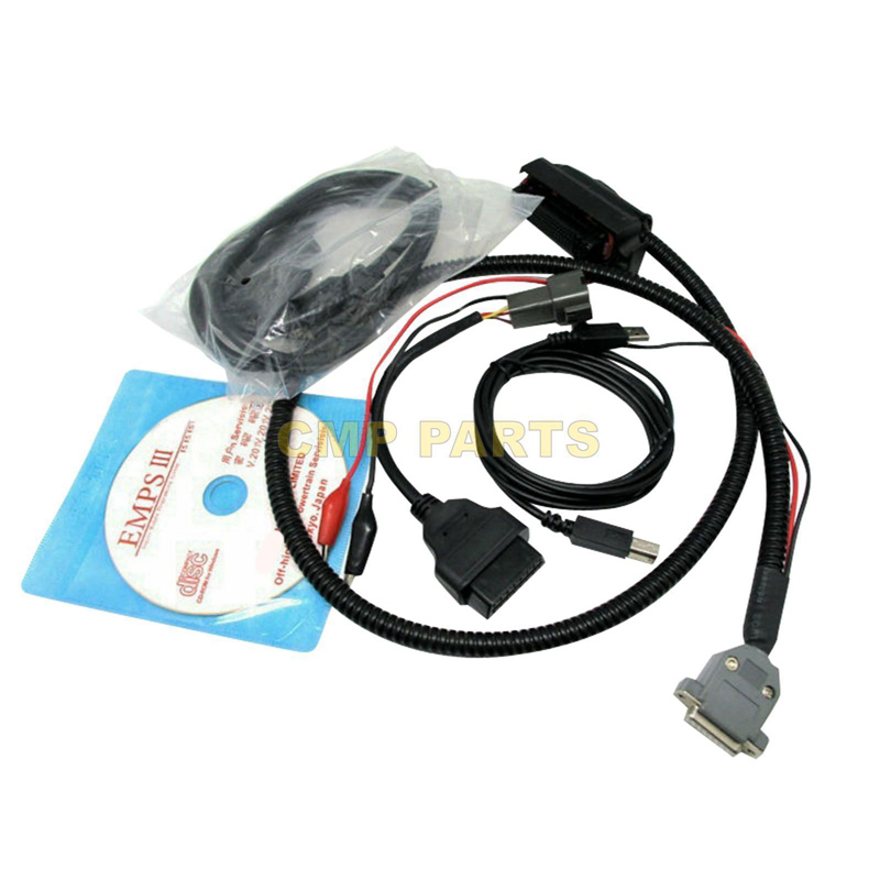 Free Shipping EMPSIII Programming Plus with Dealer Level Truck Diagnostic Tool for ISUZU EMPS 3 Diesel Tools