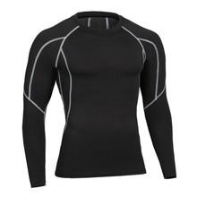 Hot Sale Men Long Sleeve font b Tshirts b font Male Fitness Thermal font b Muscle