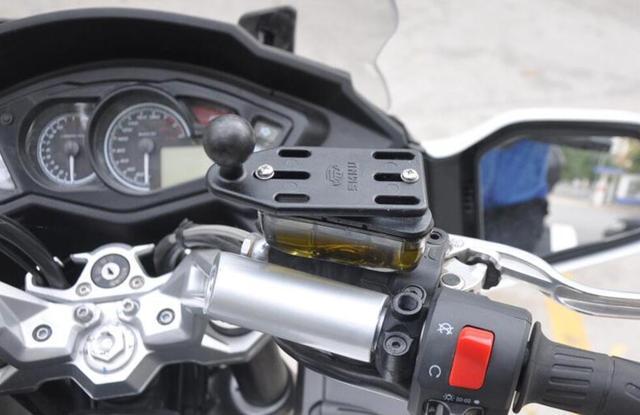 1 inch ball motorrad pumpe montieren basis für gopro hero kamera, camcoders, dslr und smartphone für ram mounts 25mm ball