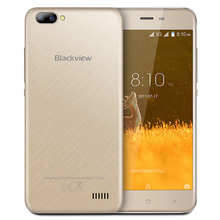 New BLACKVIEW A7 smartphone Dual Rear Camera MT6580 Quad core Android 7.0 mobile phone 5.0inch HD IPS 1GB+8GB GPS 3G cell phone (China)