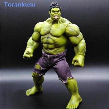 Avengers Endgame Marvel Anime Avengers Hulk Action Figure Super Hero PVC Collectible Toy Model Men Gift Hot Toys Figma Doll PG фото