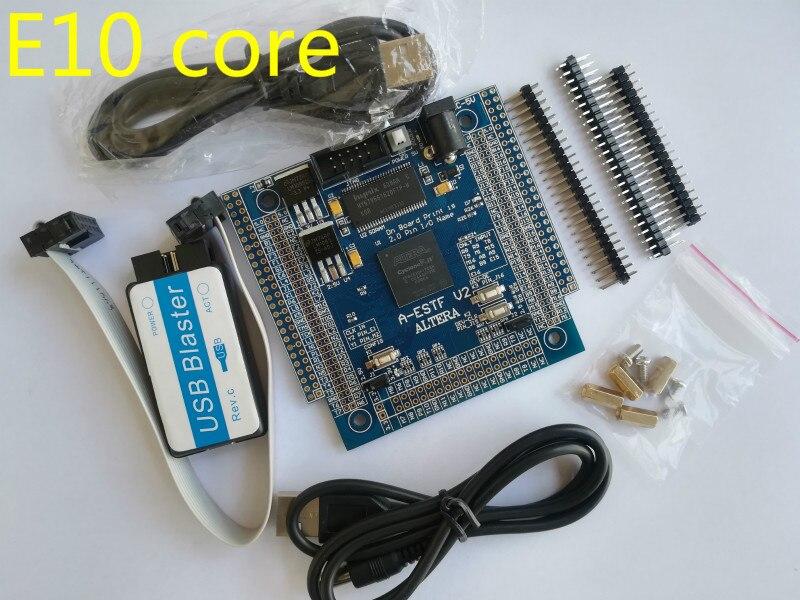 E10 altera carte fpga carte altera carte de développement fpga carte EP4CE10f17C8N NIOS II + SDRAM + USB DC-5V