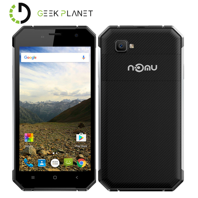Original Nomu S30 Mobile Phone Helio P10 MTK6755 5.5 Inch FHD Screen Android 6.0 4GB +64GB IP68 HiFi 4G LTE Smartphone