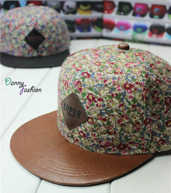 Leather patch logo snapback cap leather flat brim snapback hat fashion lids a6edd55f14d