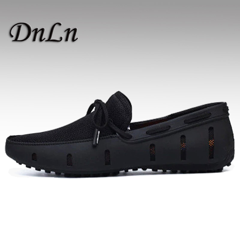 Durable Mens Loafers Swims Casual Beach Shoes Breathable Driving Shoes For Men Slip On Mesh Comfortable Shoes D50 aleader high quality mens loafers casual fashion men shoes flats breathable men slip on driving shoes big size swims loafers