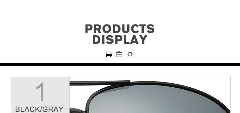 f05f439197bc BAVIRON Aviation Sunglasses Men Polarized Designer Pilot Mirror Sunglasses  Women uva uvb uv100 Driving Polarized Sun Glass Man