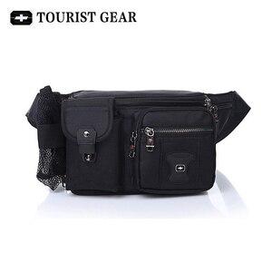 Image 1 - Bolsa de cintura suíça para homens e mulheres, pochete com cinto de quadril, mochila de viagem, montanhismo, para celular pacotes