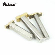 RCIDOS #304 Stainless steel handle punch,handle cold embossing LOGO tools,stamping punch