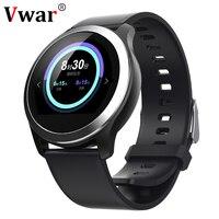 Vwar IP68 Waterproof Smart Watches ECG PPG Blood Pressure Measurement Fitness Tracker Smartwatch Heart Rate For IOS Xiaomi phone