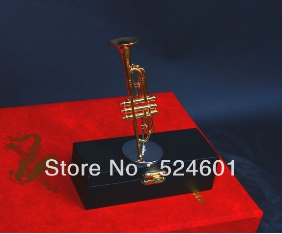 Wholesale Nice things Mini trumpet himself Child Gift & case