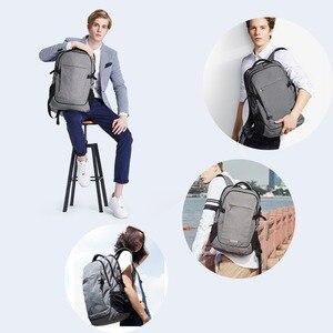 Image 5 - Mixi mochila para laptop, mochila unissex com design de patenteamento, ideal para viagens, escola, à prova d água m5222