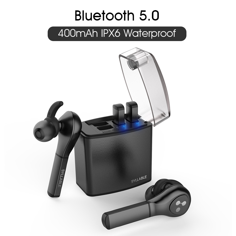 Original SYLLABLE D9X TWS True Wireless Stereo Earbuds Bluetooth V5 0 Sports earphones for Android IOS