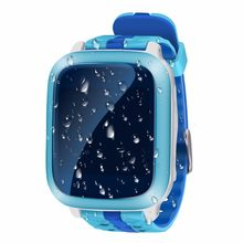 Nuevos niños seguridad anti perdido gps tracker Smart Watch ds18 IP67 impermeable Niños SOS emergencia para iPhone y Android PK q50 q90(China)