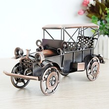 Alloy 1924 metal crafts classic car model ornaments sports manual optional desk decoration  christmas decorations