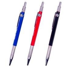 Высококачественный автоматический механический карандаш 2,0 мм для профессиональной живописи и письма, школьные принадлежности с свинцовыми заправками