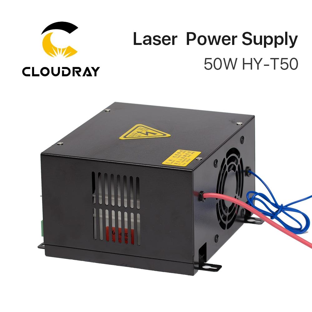 """""""Cloudray"""" 50 W CO2 lazerio maitinimo šaltinis, skirtas CO2 - Medienos apdirbimo mašinų dalys - Nuotrauka 4"""