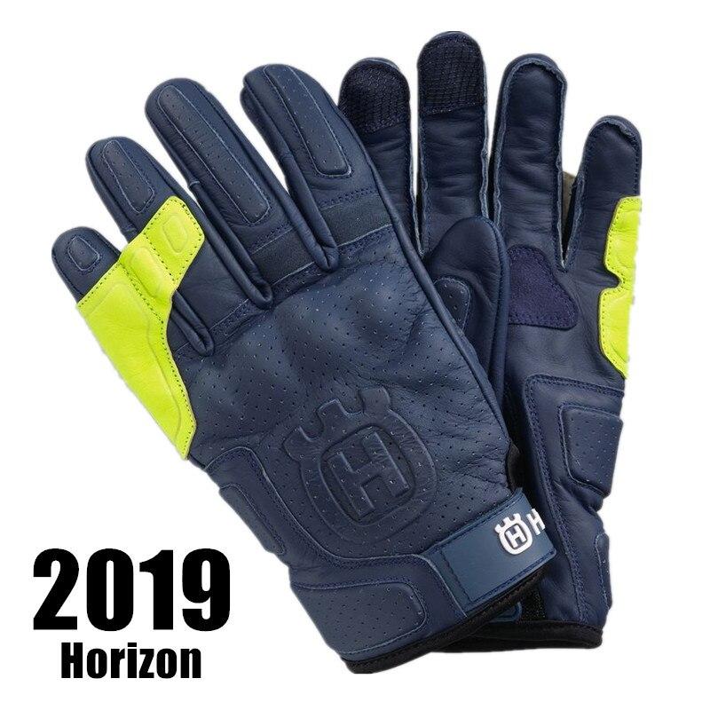 Nouveaux gants de Moto Husqvarna gants de Moto en cuir haut