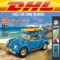 КЛАССИЧЕСКИЙ: Yile 003 Создатель Серии Городской Автомобиль Жук модель Строительные Блоки, которые Поддерживаются legoe 10252 LEPINs 21003 Рождественский Подарок
