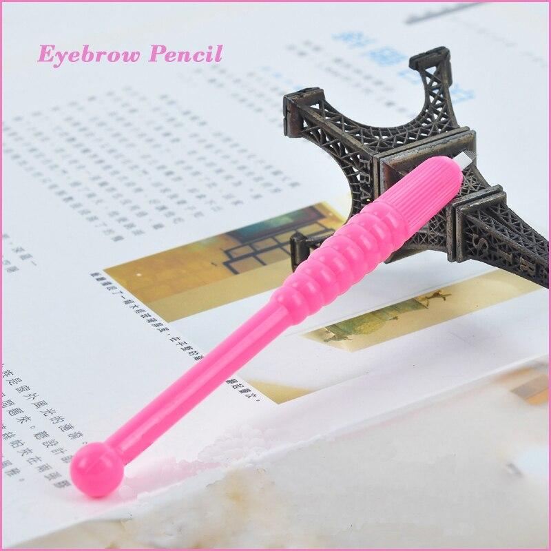 10st professionell microblading disponibel penna med manuell ögonbryn tatoo krökta blad 9/12 pin 18 pin för ögonbryn microblading