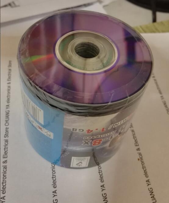 8 cm de Haute qualité mini vide/de registre en blanc DVD disque/disque pour DVD-R pour MAGNÉTOSCOPE caméra 1.4 GB/30 MIN 50 PCS