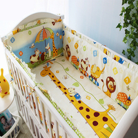 Forest Animals Comfortable Baby Crib Bedding Set Crib Boy Organizer For The Crib Bedding For The
