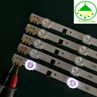 650mm LED Backlight Lamp strip 9 leds For SamSung 32'' TV BN96-25300A UA32F4088 2013SVS32H D2GE-320SC0-R3 HF320CSA-B1