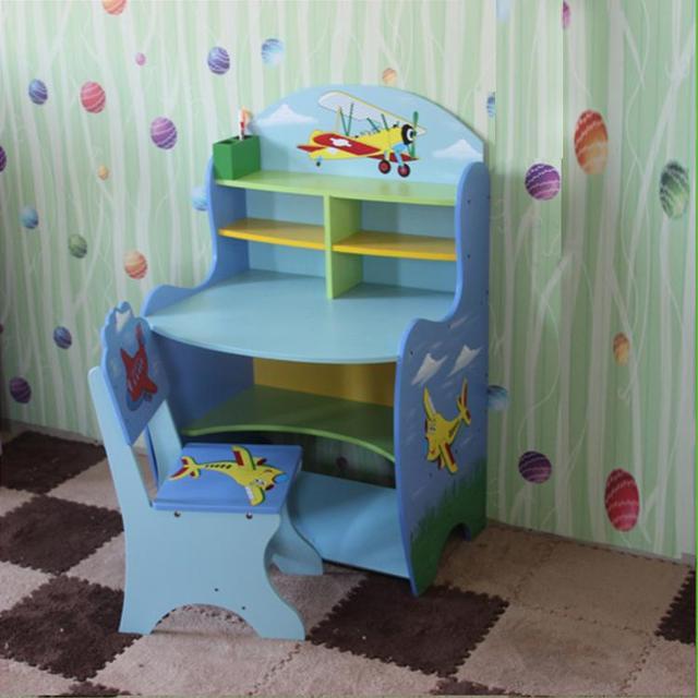 Barato muebles Americanos jóvenes niños escritorio mesas mesas de ...