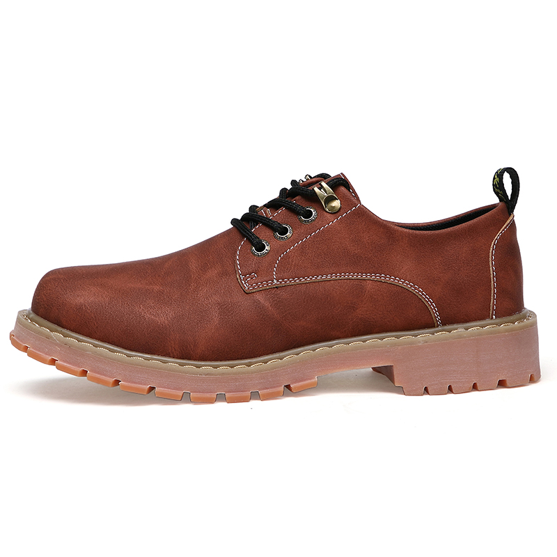 Woodtree Stivali Da Uomo 2018 Nuova Moda In Pelle Scamosciata scarpe da Uomo scarpe Casual oxfords per la Primavera Estate Inverno Sneakers Dropshipping - 3