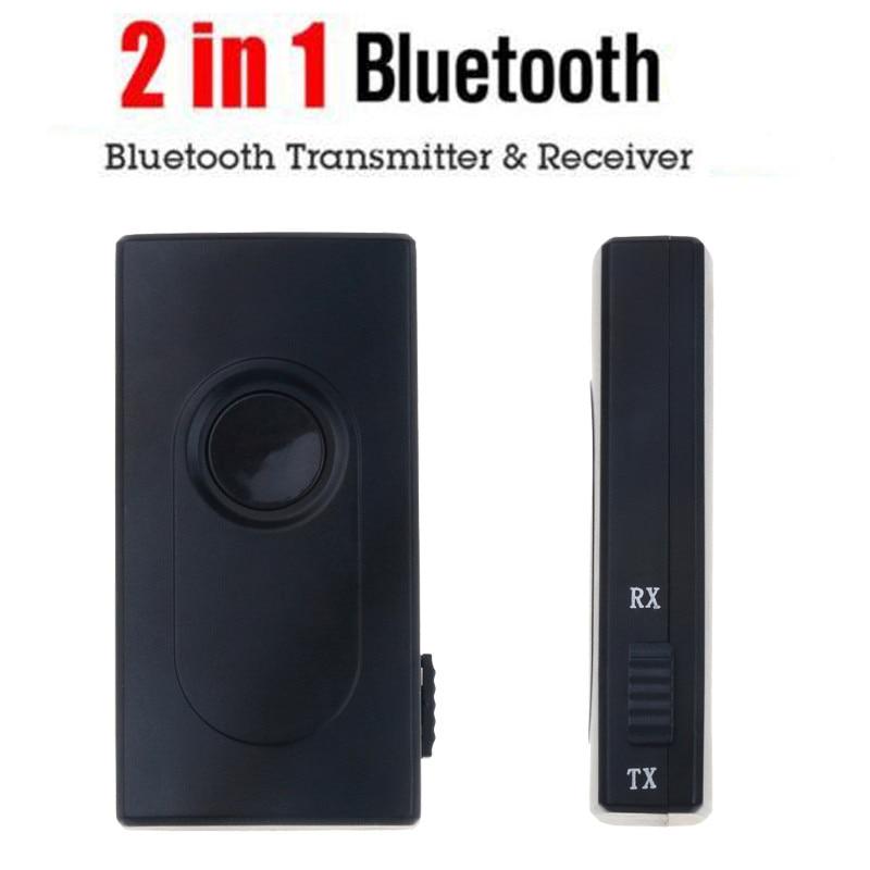 3.5mm Bluetooth V4 Transmitter Receiver Wireless A2DP Audio Music Adapter hot