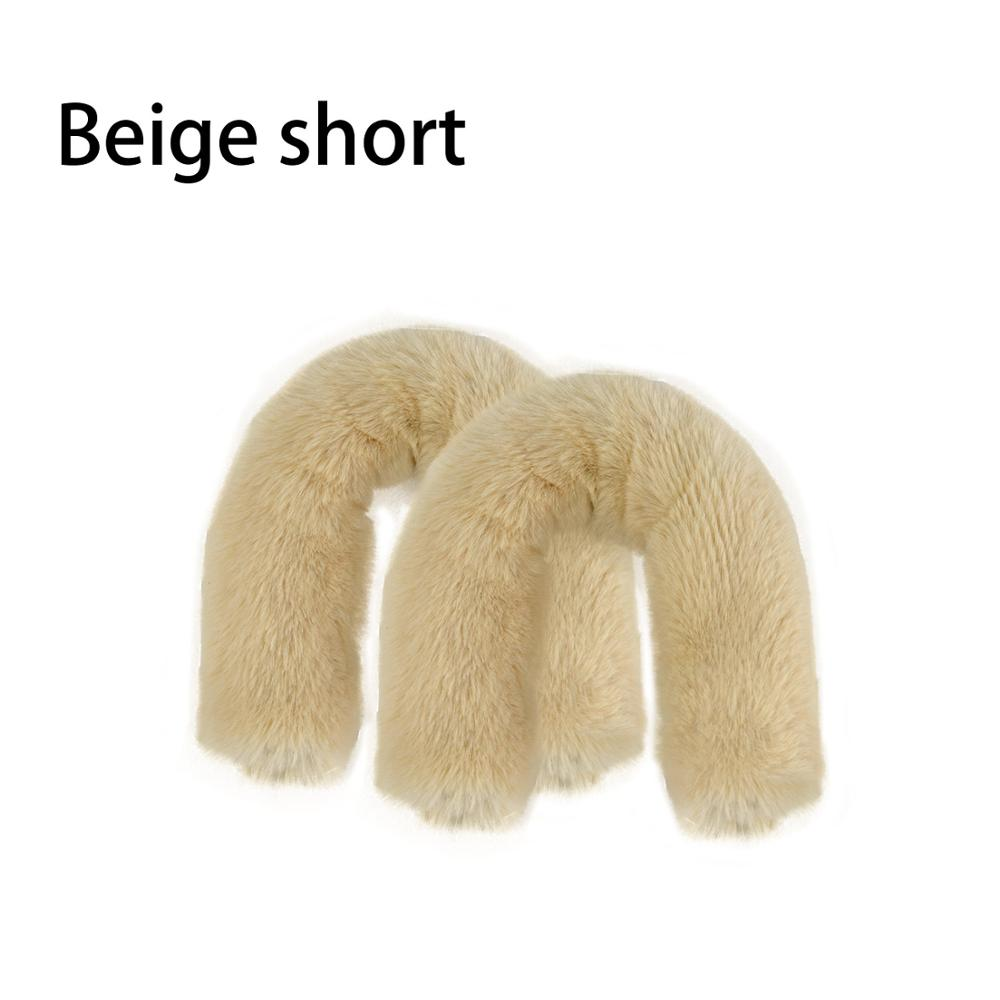 e2e98516fc16 Dropwow huntfun 1 Pair Long faux fur sleeve for rope Handle for O ...