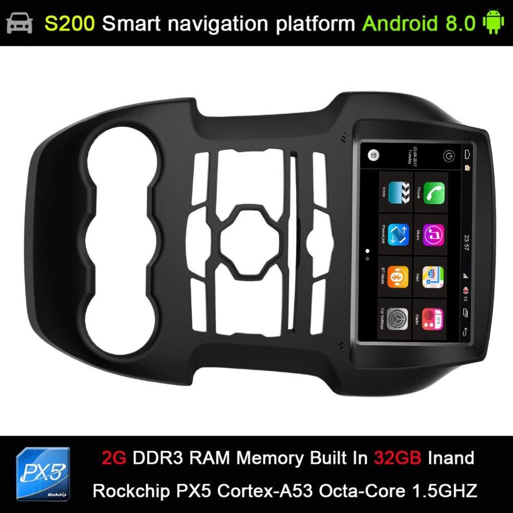 Автоматическая система Android 8,0 PX5 Octa 8-Core Процессор 2G RAM 32 ГБ Rom dvd-радио gps навигации для FORD Ranger 2011-2015