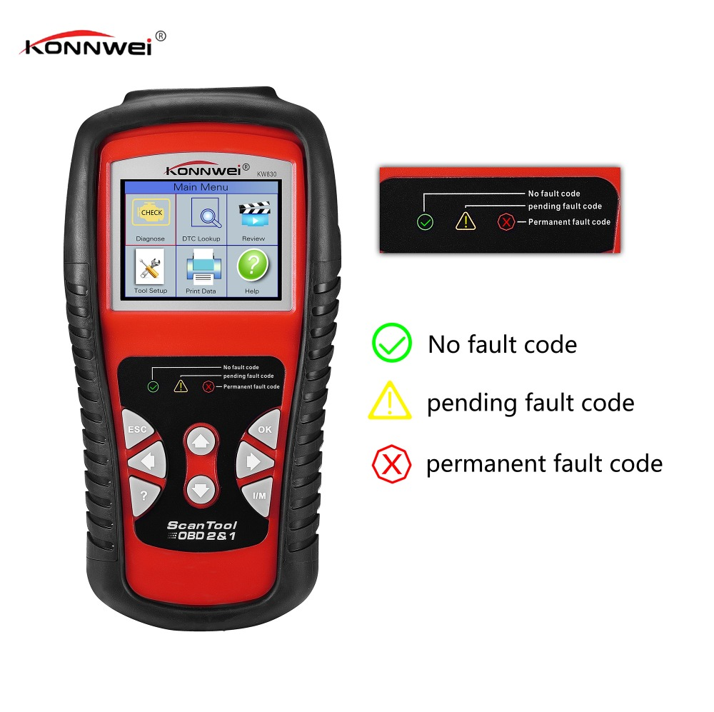 Automotive Diagnostic Scan Tool Car Code Reader for Check ...