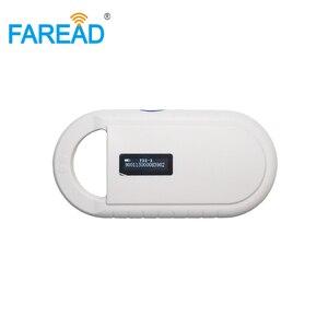 Image 3 - YENI Ücretsiz kargo Pet Mikroçip ISO11784/85 134.2KHz FDX B küçük Taşınabilir Tarayıcı, Hayvan Etiketi çip Okuyucu, LF RFID El Okuyucu