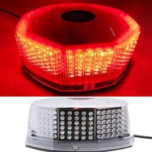 CYAN SOIL BAY 240 LED Red Car Police Emergency Beacon Harzard Magnetic Flash Strobe Light Bar Warning Flashing Top Roof Lamp(China)