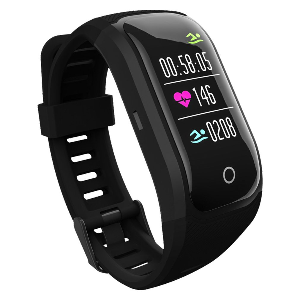 GPS Running Watch Outdoor Sports Stainless Steel Smart Watch Multi Function Training Mode Distance Calorie Speed Time Count