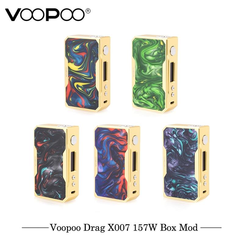 D'origine VOOPOO GLISSER 157 w TC Boîte MOD e cigarette 18650 boîte mod Vaporisateur avec NOUS GÈNE puce de Contrôle De La Température résine mod VS Smok Mod - 2