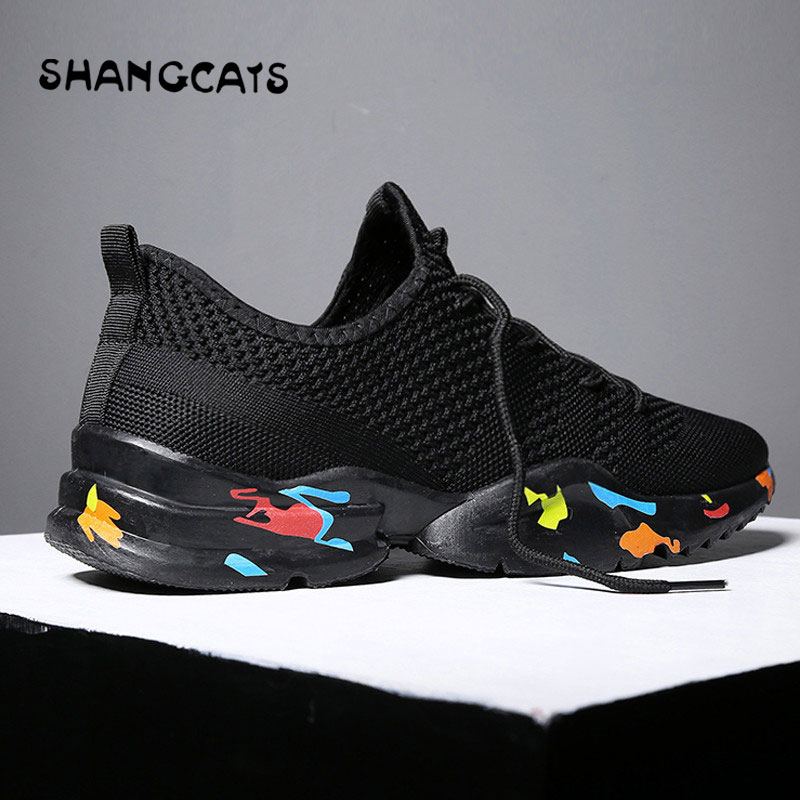 huge selection of d4926 d67fb Trend 2018 New Breathable Running Shoes For Man sapato masculino Summer  Outdoor Sports Shoes baskets homme chaussure sport homme-in Running Shoes  from ...
