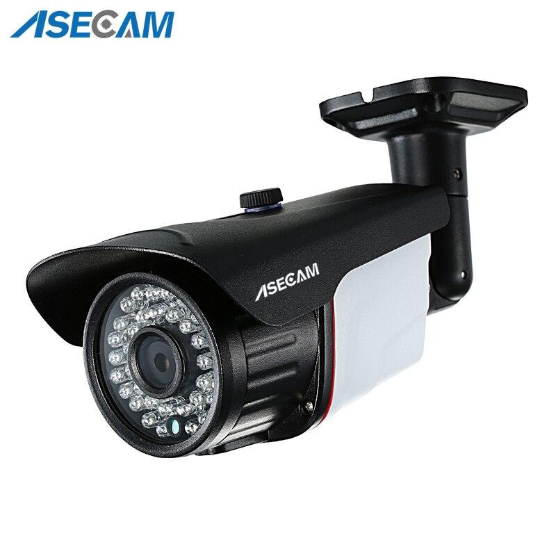 Nouveau Super 5MP AHD caméra de sécurité IMX326 CCTV métal noir balle vidéo Surveillance extérieure étanche 36 Vision nocturne infrarouge