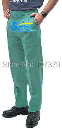 FR Clothing FR Trousers Flame Retardant Welding Clothing FR Cotton Coverall  FR Cotton Welding Clothes