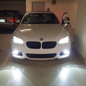 Image 5 - WLJH 2 개 9006 HB4 30 와트 Epistar Led 칩 램프 전구 렌즈 자동차 액세서리 외부 Led 안개등 전구 BMW E46 330ci