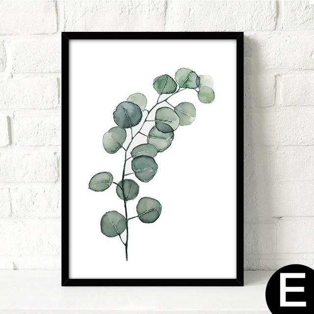 Watercolor-Tropical-Plant-leaves-Canvas-Art-Print-Poster-Nordic-Green-Plant-leaf-rural-Wall-Pictures-for.jpg_640x640 (3)