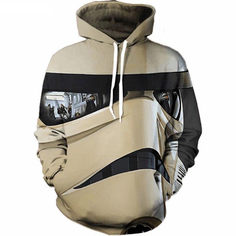 Men/Women Star War 3D Hoodie Cool Print Sweatshirt Fashion GameMovie Super Hero Hooded Sweatsuits Tops