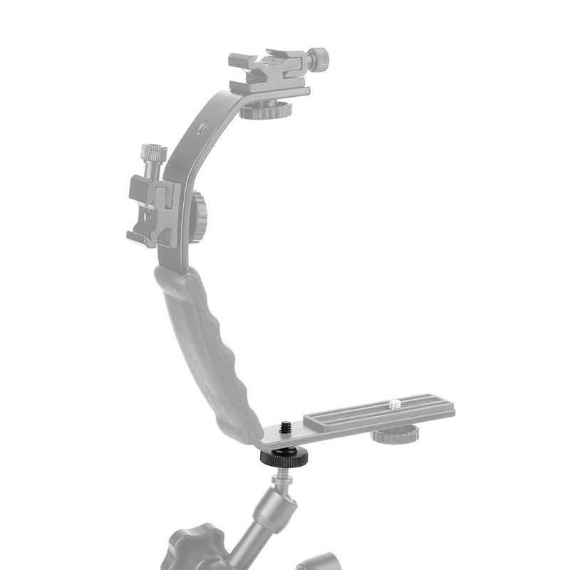 Tornillo pulgar cámara de liberación rápida 1/4 pulgadas tornillo pulgar L soporte adaptador de montaje de tornillo inferior 1/4 pulgadas-20 hilo femenino (paquete de 2