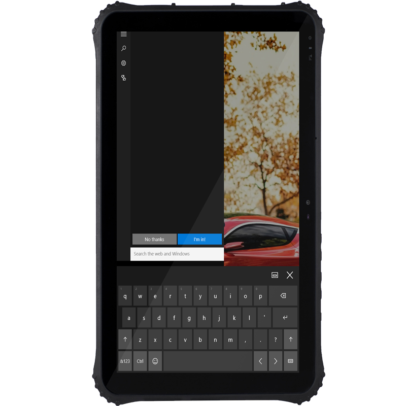 RAM 4GB ROM 128GB 12 inch 4G LTE windows 10 rugged Tablets industry panel PC in Industrial Computer Accessories from Computer Office