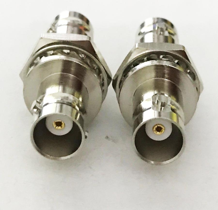 50PCS RF SMA Adapter BNC female to SMA female plug coax antenna for CCTV Monitor