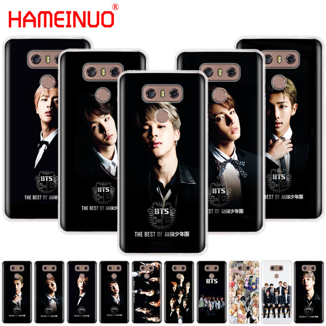 separation shoes dd507 55ca6 US $1.64 34% OFF|Bts bangtan boys Taehyung Kpop music case phone cover for  LG G7 Q6 G6 MINI G5 K10 K4 K8 2017 2016 X POWER 2 V20 V30 2018-in ...
