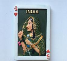 Indian Girl Poker Tour Memorial Fridge