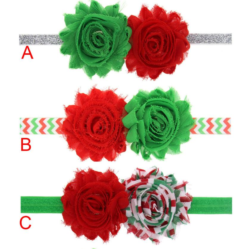 new style Special accessory for your child perfect Girl Christmas Ornaments Headdress Elastic Hair Band Anne